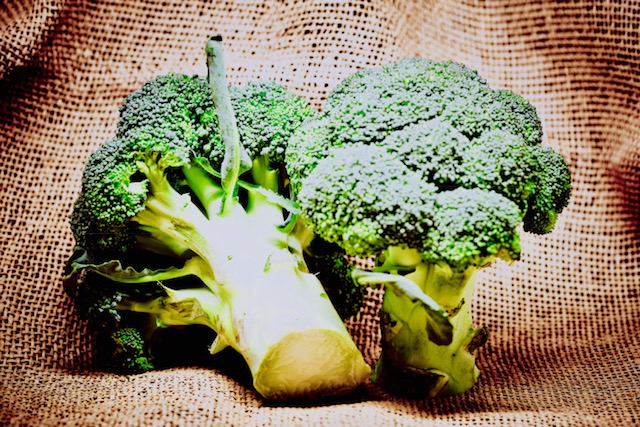 Broccoli, the happy food