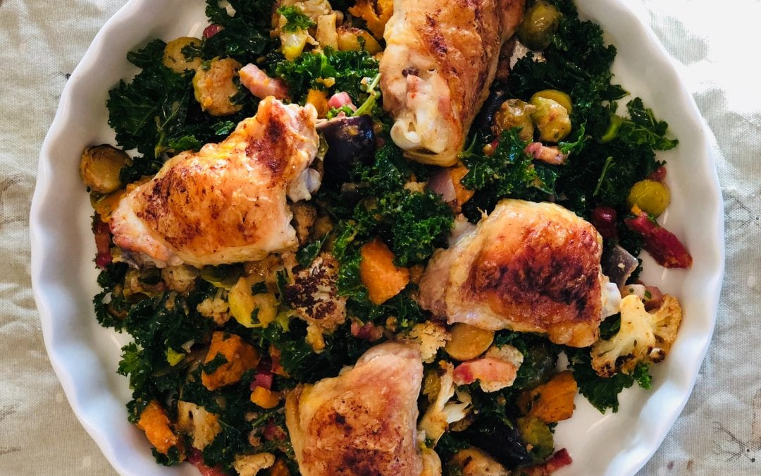 Chicken & Veggie Traybake