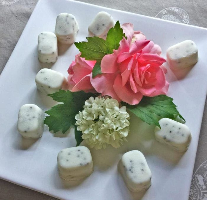 Energy Boosting Coconut Cubes